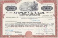 American Airlines Inc bond - brown $5000