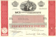 MCI Communications bond 1987
