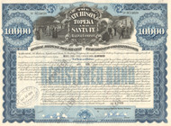Atchison, Topeka, and Santa Fe Railway $10,000 bond 1978
