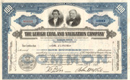 Lehigh Coal and Navigation Company stock certificate 1950's