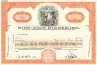 Winn-Dixie Stores Inc stock certificate - specimen