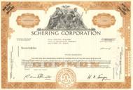 Schering Corporation stock certificate 1960's (now part of Merck)