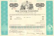 Dow Corning Corporation $5000 bond certificate 1975