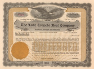 Lake Torpedo Boat Company stock certificate - preferred stock