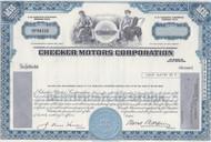 Checker Motors - blue