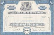 American Motors stock certificate