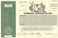 Dominion Resources Inc. stock certificate 1983 specimen (Virginia)
