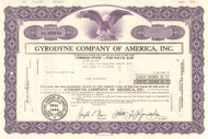 Gyrodyne Company of America Inc. stock certificate 1976