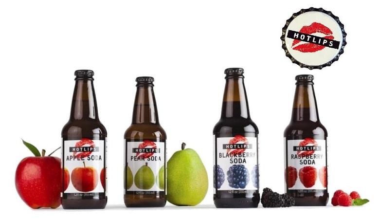 Fresh HOTLIPS Real Fruit Sodas