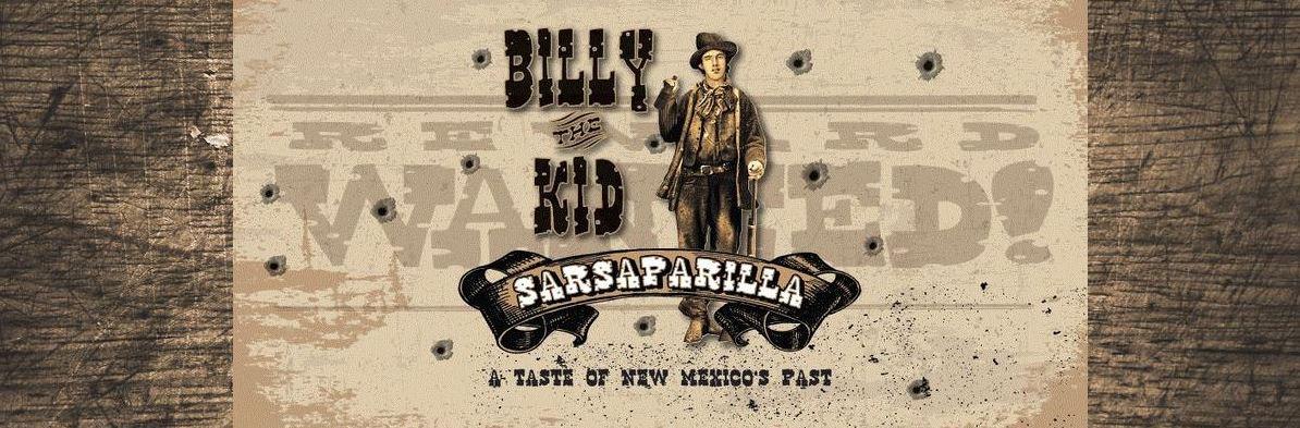 Billy the Kid Sarsaparilla Sold at SummitCitySoda.com