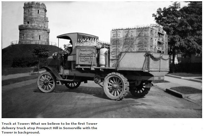 First Tower Delivery Truck 1914 - Prospect Hill Beverages