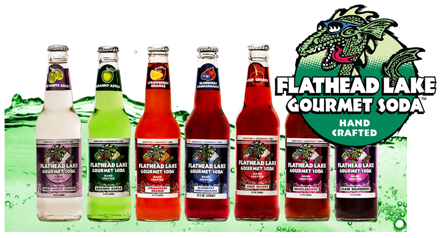 Flathead Lake Gourmet Sodas at SummitCitySoda.com