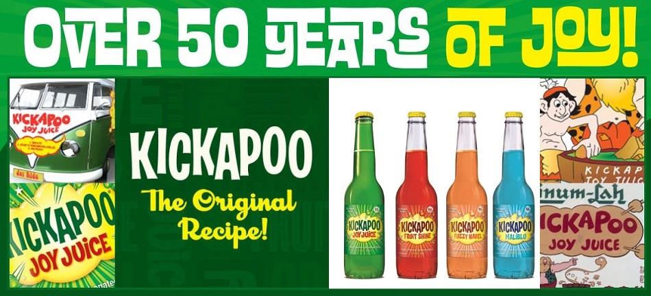 Kickapoo Joy Juice and Kickapoo Fruit Shine Sodas On Sale at SummitCitySoda.com