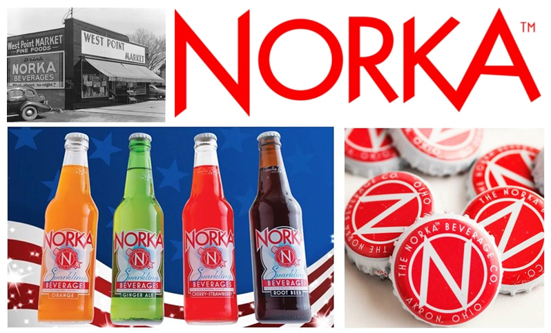 Norka Sparkling Beverages are back and available at SummitCitySoda.com