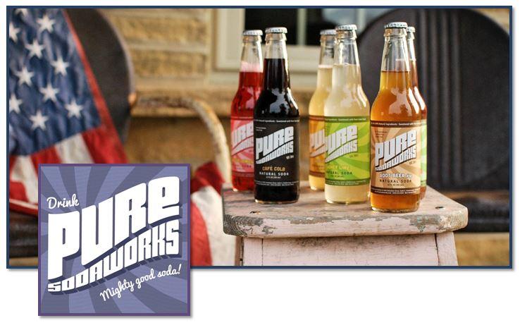 Pure Sodaworks Natural Sodas