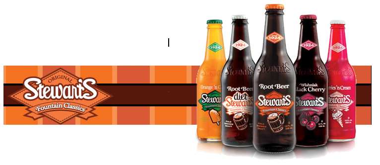 Stewarts Fountain Classics Sodas onsale at Summit City Soda