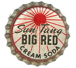 Sun Tang Big Red Soda Bottle Cap