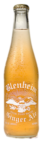 Blenheim #5 Not As Hot Ginger Ale  (Gold Cap) in 12 oz. glass bottles for Sale