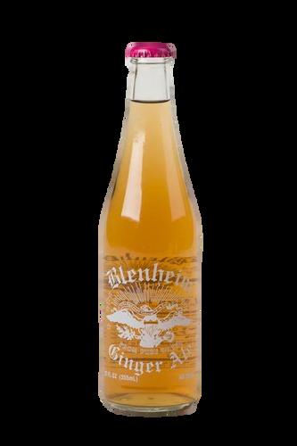 Blenheim Old # 3 HOT Ginger Ale (Red cap) in 12 oz. glass bottles for Sale