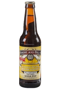 Birdie and Bill's Bananas Foster - All Natural Soda Pop in 12 oz glass bottles at SummitCitySoda.com