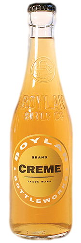 Boylan Cream Soda in 12 oz. glass bottles for Sale