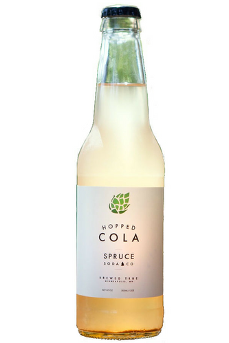 Spruce Soda Co. Hopped Cola in 12 oz glass bottles at SummitCitySoda.com