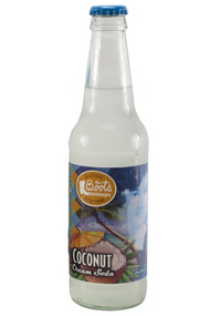 Boots Beverages Coconut Cream Soda in 12 oz. glass bottles for Sale