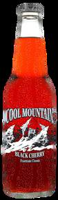Cool Mountain Black Cherry Soda in 12 oz. glass bottles for Sale