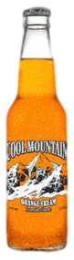 Cool Mountain Orange Cream Soda in 12 oz. glass bottles for Sale