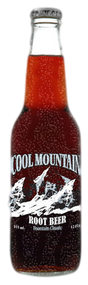 Cool Mountain Root Beer in 12 oz. glass bottles for Sale