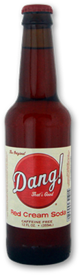 Dang That's Good! Red Cream Soda in 12 oz. glass bottles for Sale