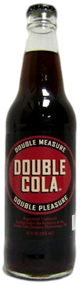 Double Cola in 12 oz. glass bottles for Sale