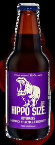Hippo Huckleberry Soda in 12 oz. glass bottles for Sale