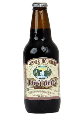 Hosmer Mountain Antique Root Beer in 12 oz. glass bottles for Sale at SummitCitySoda.com