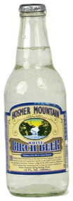 Hosmer Mountain Antique White Birch Beer in 12 oz. glass bottles for Sale