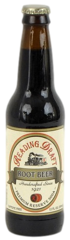 Reading Draft Root Beer in 12 oz. glass bottles for Sale