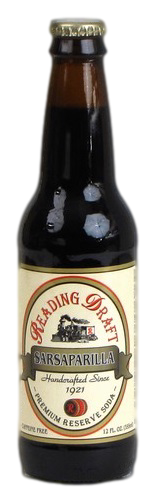 Reading Draft Sarsaparilla in 12 oz. glass bottles for Sale