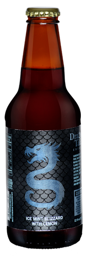 Dragon Tail Ice Mint Blizzard with Lemon in 12 oz. glass bottles for Sale