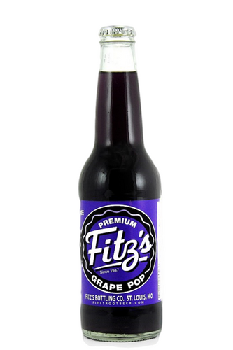 Fitz's Grape Pop in 12 oz. glass bottles for Sale at SummitCitySoda.com