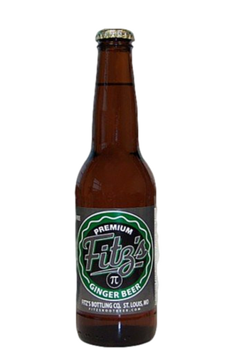 Fitz's Pi Ginger Beer in 12 oz. glass bottles for Sale at SummitCitySoda.com