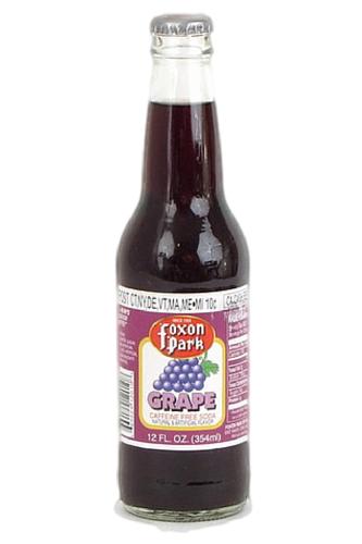 Foxon Park Grape Soda in 12 oz. glass bottles for Sale at SummitCitySoda.com