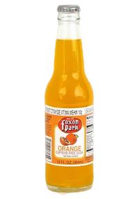 Foxon Park Orange Soda in 12 oz. glass bottles for Sale at SummitCitySoda.com