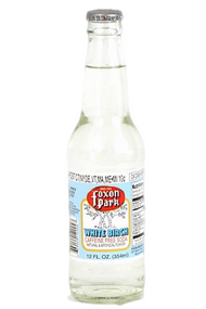 Foxon Park White Birch Soda in 12 oz. glass bottles for Sale at SummitCitySoda.com