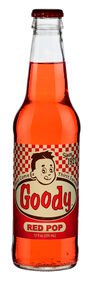 Goody Red Pop in 12 oz. glass bottles for Sale