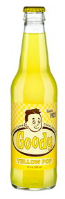 Goody Yellow Pop in 12 oz. glass bottles for Sale