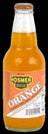 Hosmer Mountain Orange Soda in 12 oz. glass bottles for Sale