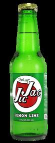 Jic Jac Lemon Lime Soda in 12 oz. glass bottles for Sale
