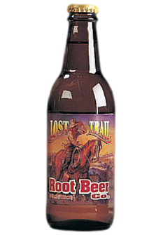 Lost Trail Root Beer in 12 oz. glass bottles for Sale at SummitCitySoda.com