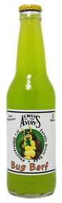 Avery's Totally Gross Bug Barf Soda in 12 oz. glass bottles for Sale