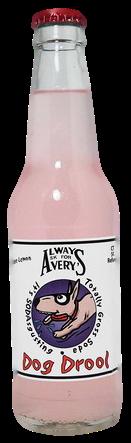 Avery's Totally Gross Dog Drool Soda in 12 oz. glass bottles for Sale